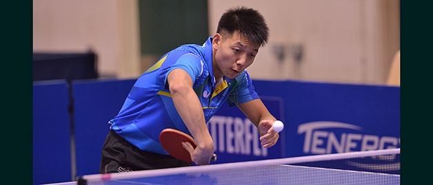 Bowen Chen Maryland Table Tennis Center: Running Toward His Goals