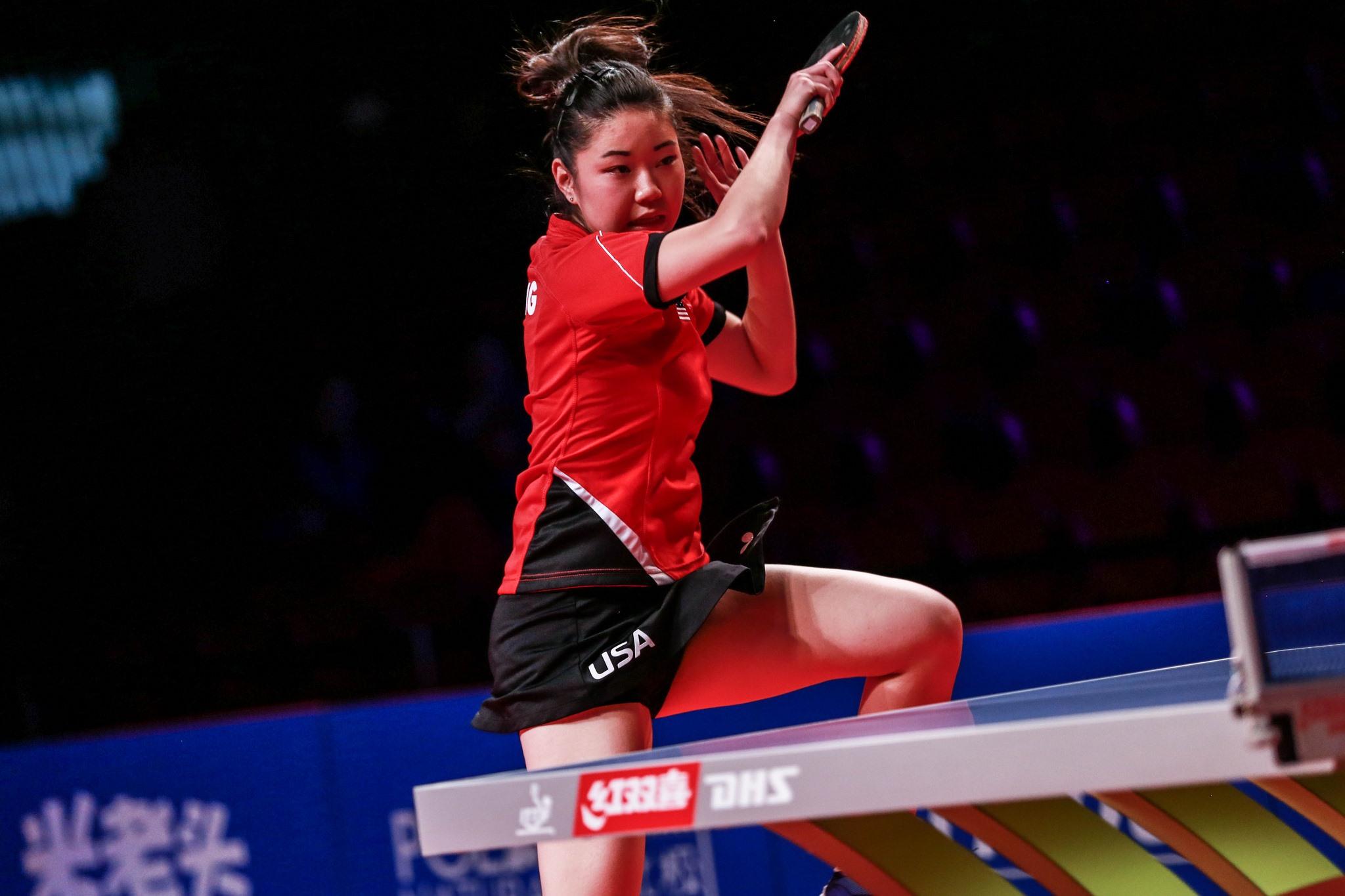 2017 Women's World Cup - ZHANG Lily(USA) Vs SUH Hyowon(KOR)