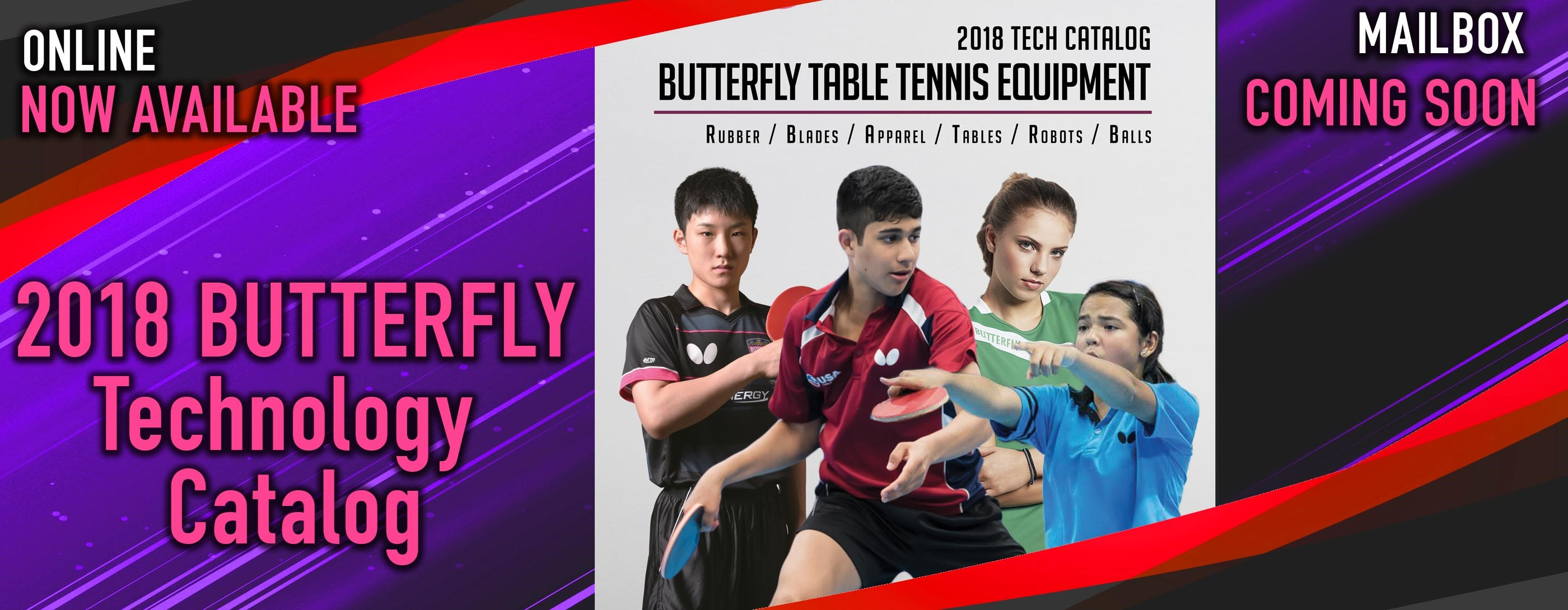 2018 Tech Catalog - Butterfly Table Tennis Equipment