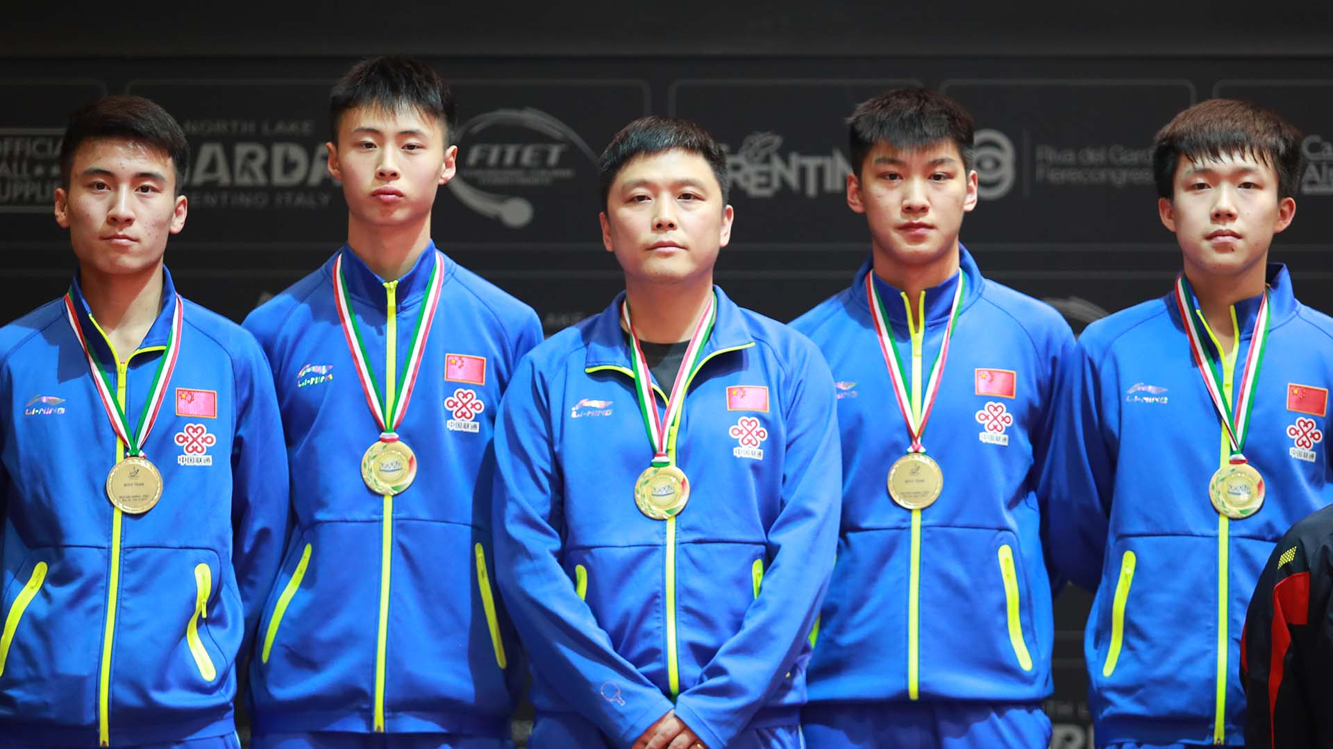 Tried and trusted trio, China supreme