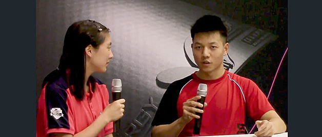 2017 Butterfly Badger Open - Video Interview With Bowen Chen