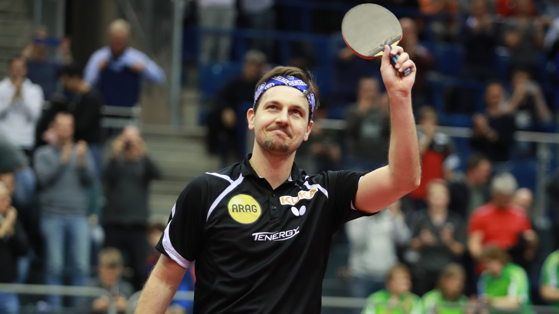 Timo Boll Delighted With German Progress