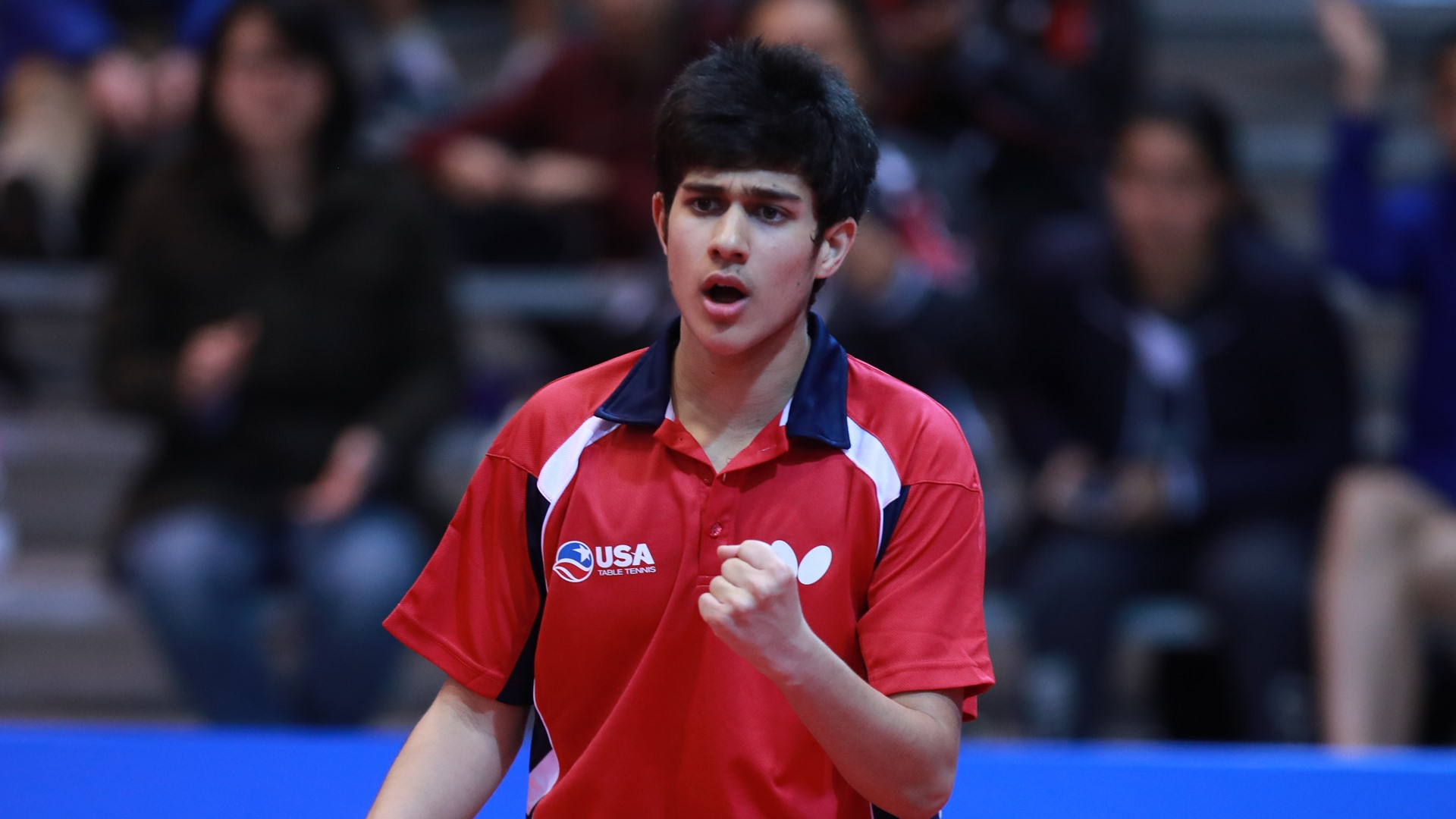 Table tennis prodigy determined to live up to favourite tag