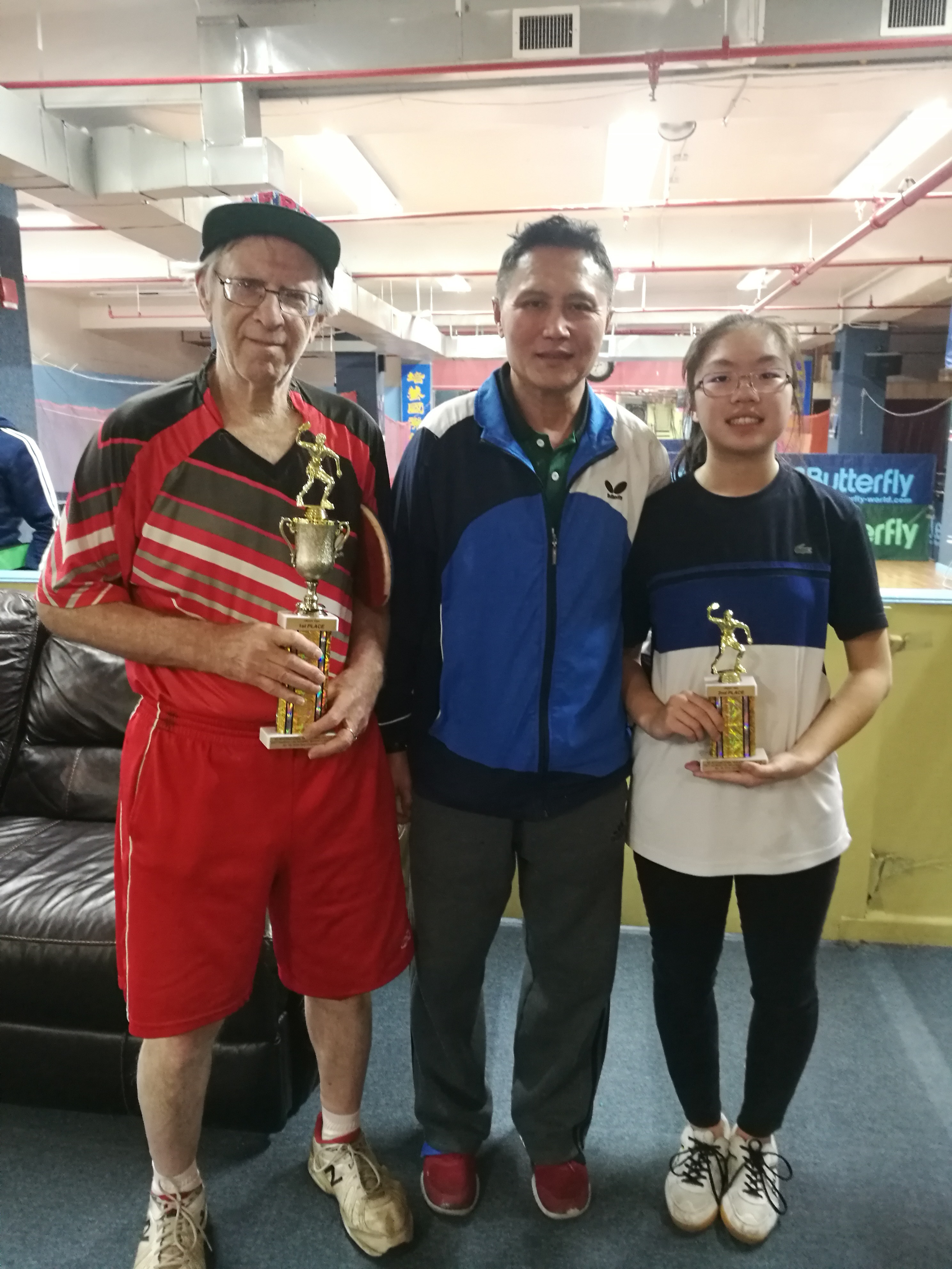 NYITTC Jan. 20, 2018 Open Championship Results