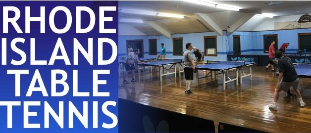 Rhode Island Table Tennis Association 70 Year Birthday