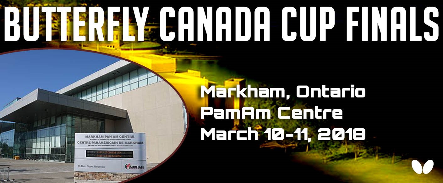 2018 Butterfly Canada Cup Finals Photos, Results & Live Stream