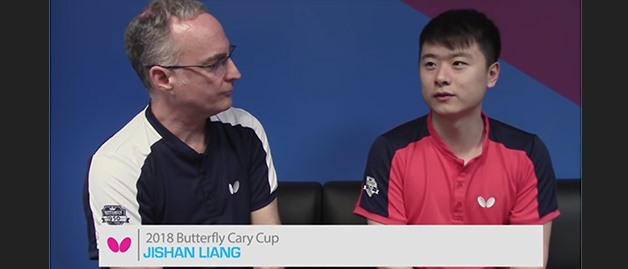 2018 Butterfly Cary Cup Interview Featuring Al Herr & Jishan Liang
