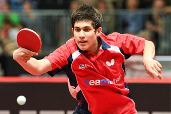 This is Kanak Jha, America's table tennis phenom