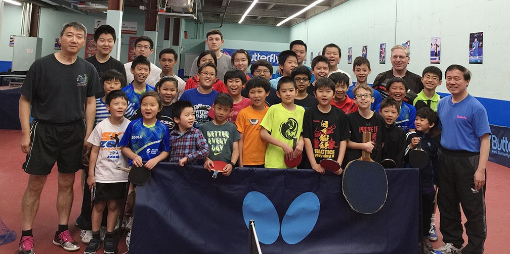 WAB Club Feature: Maryland Table Tennis Center