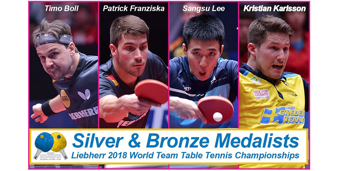 Worlds Recap: A China Sweep, Sweden and England Headline for the Men and Two Koreas Show the Power of Sports