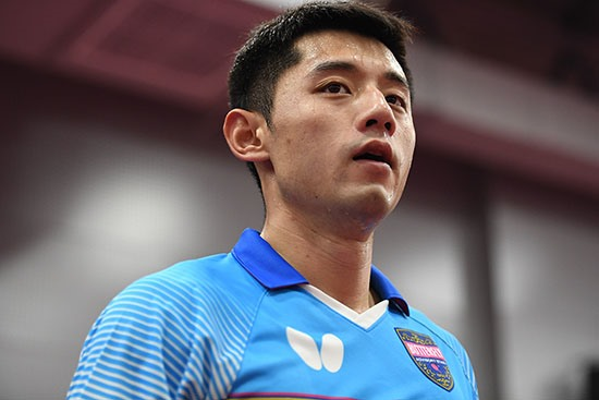 "He is back! Interview with Zhang Jike: ""I still have a chance."""