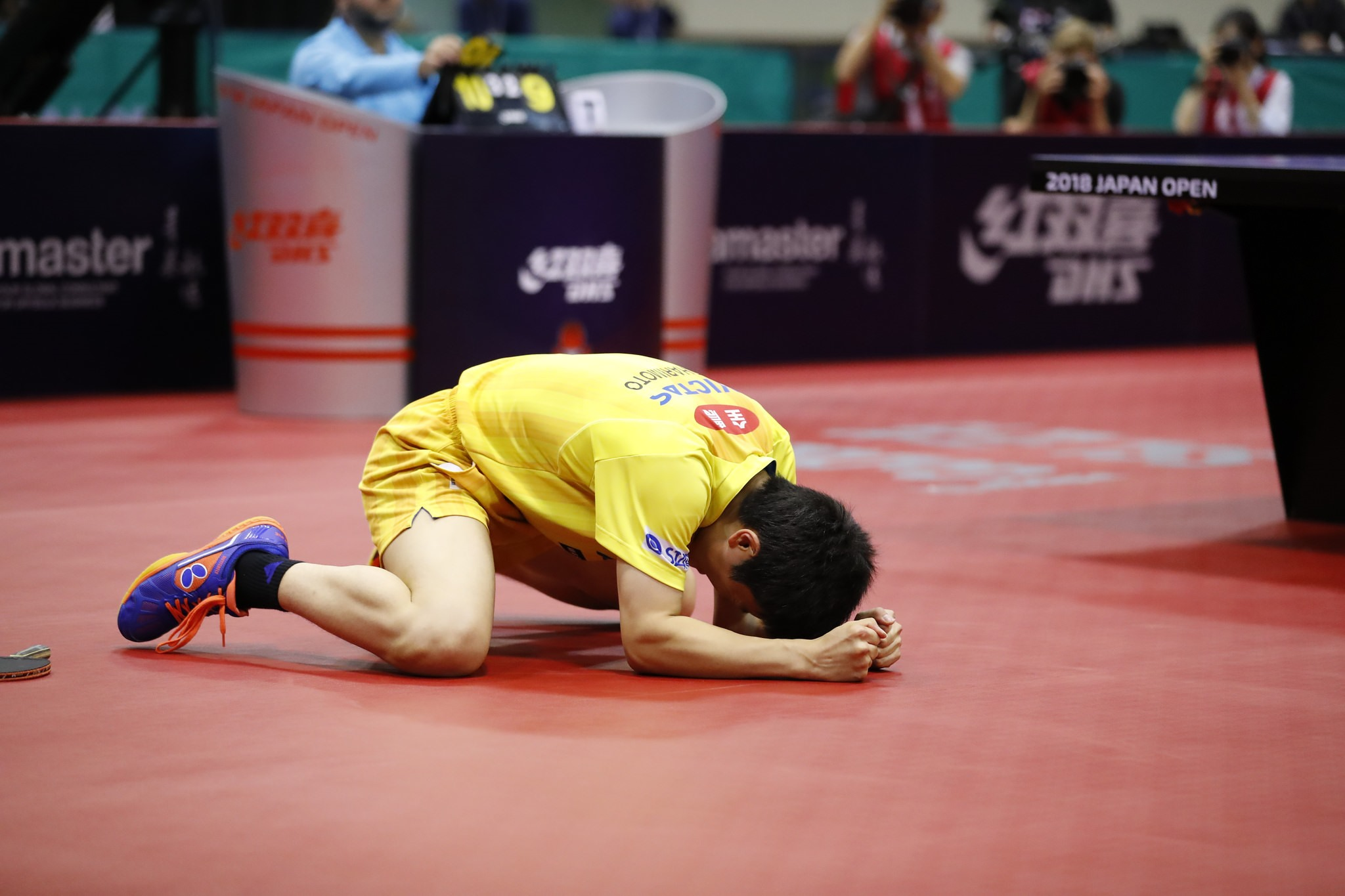 Japan Open: Harimoto on Top