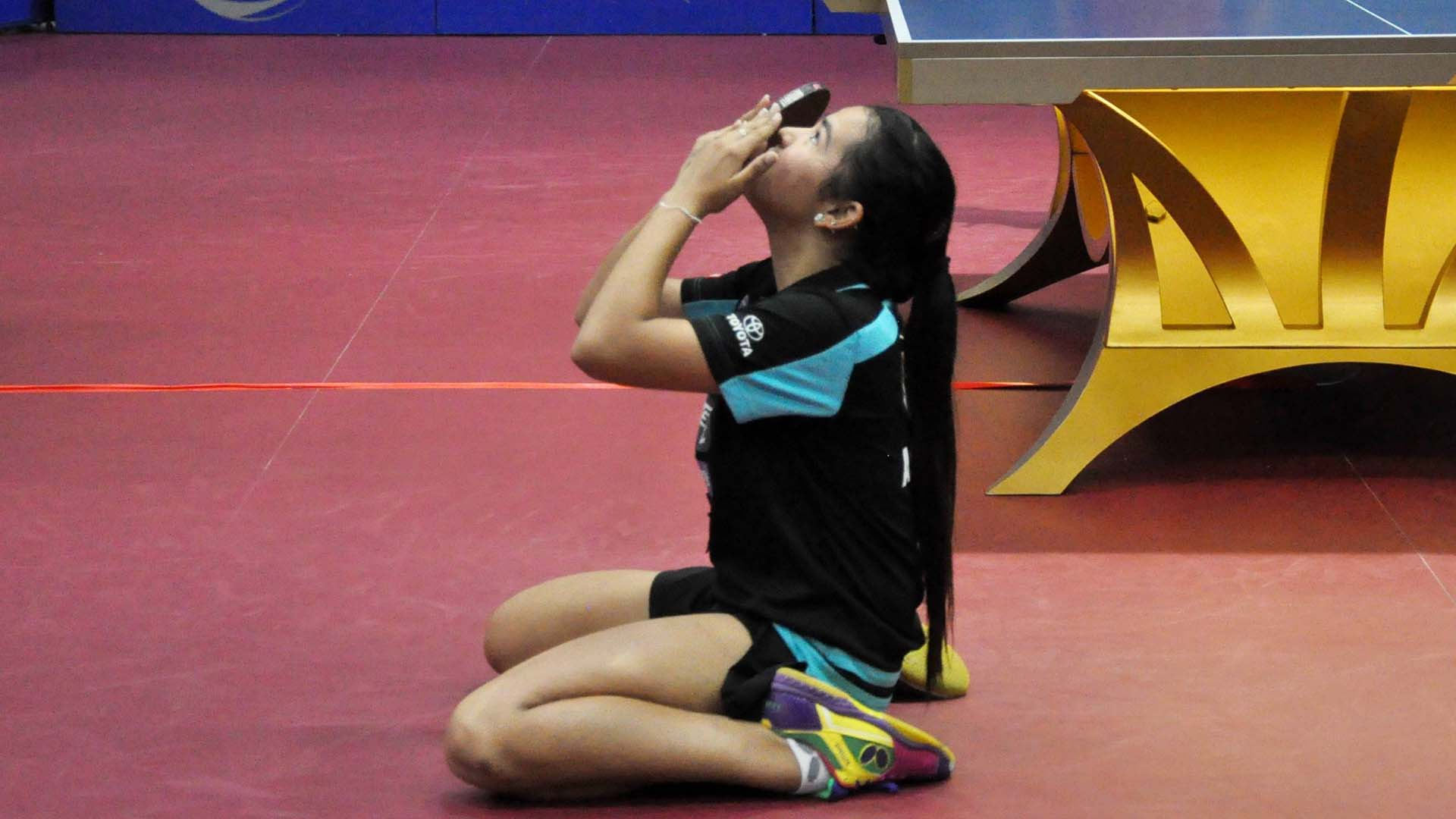 Kanak Jha For Third Time Adriana Diaz Completes Double