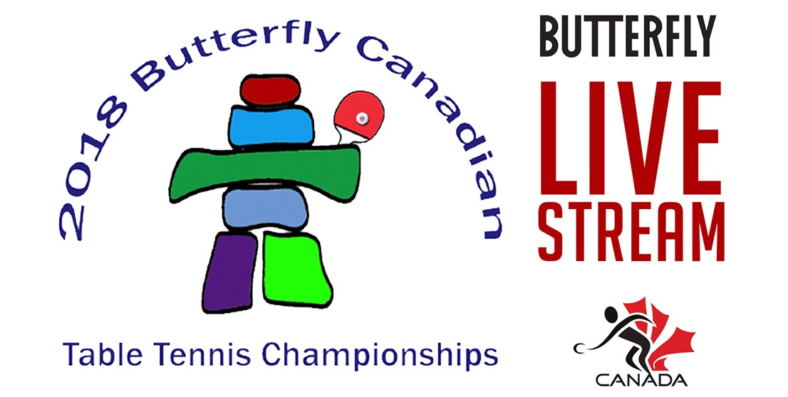 2018 Butterfly Canadian Championships Live Stream, Photos & Results