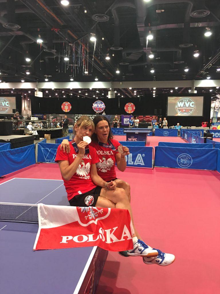 Former Polish Player Returns To Table Tennis