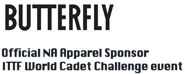 official ITTF apparel sponsor
