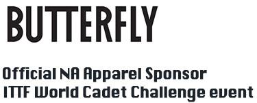official ITTF apparel sponsor