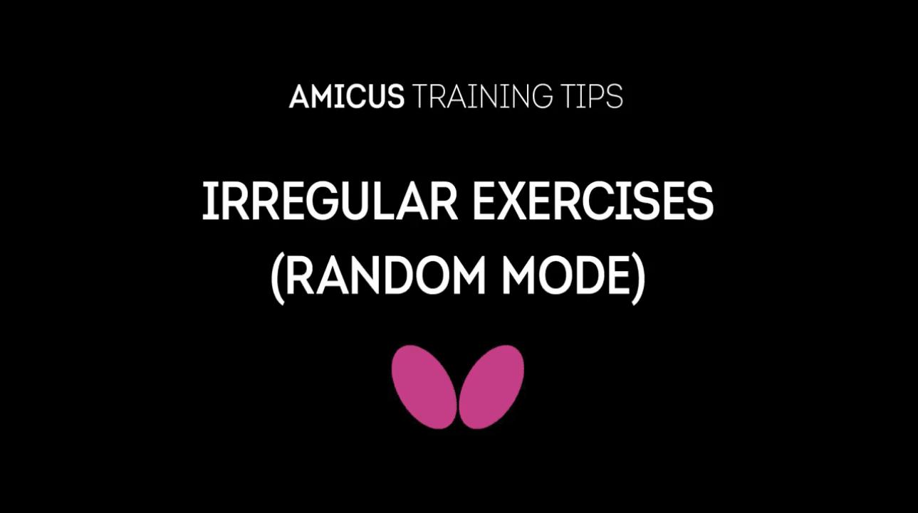 AMICUS Training Tips Series: Irregular Practise Tips (Random Mode) with Richard Prause