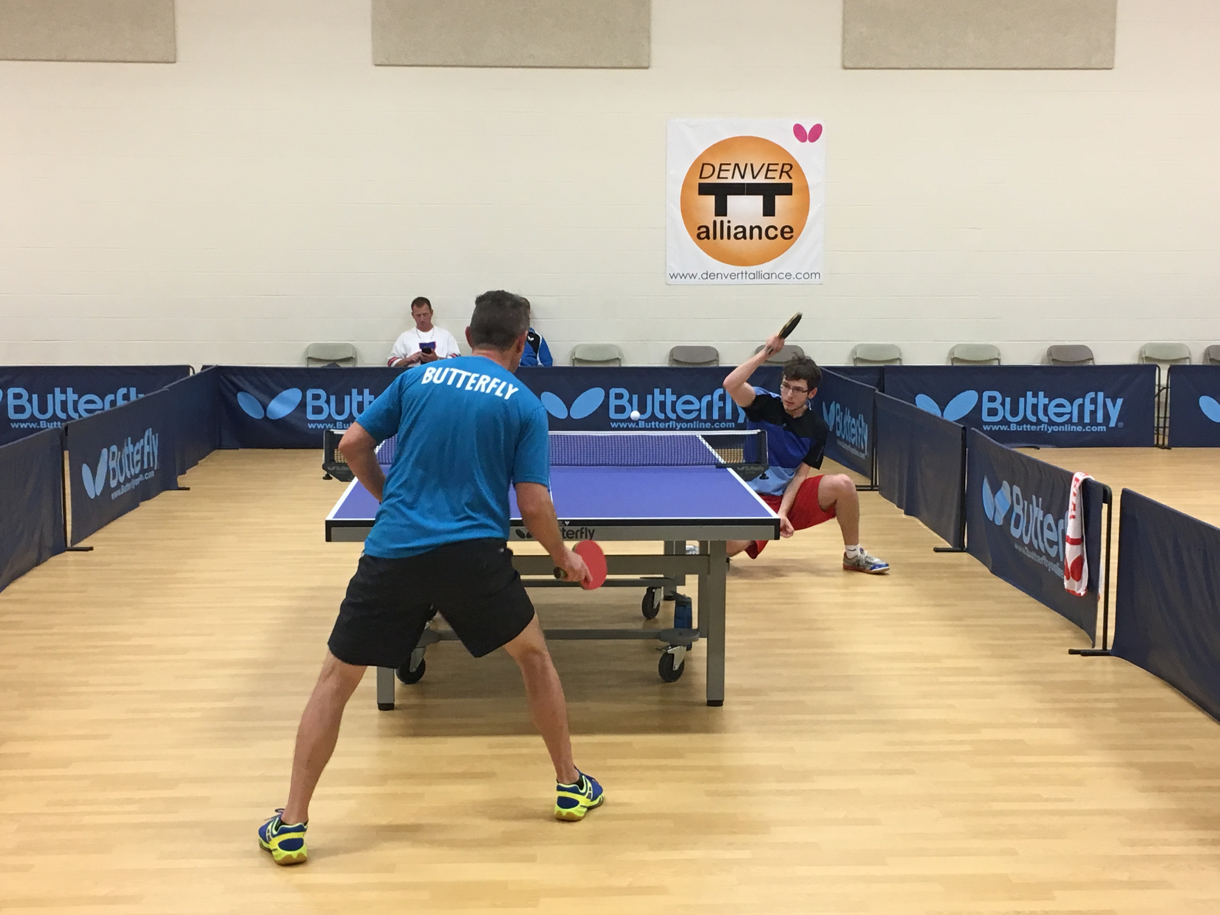Denver Table Tennis Alliance's 8th MENSUAL Tourney