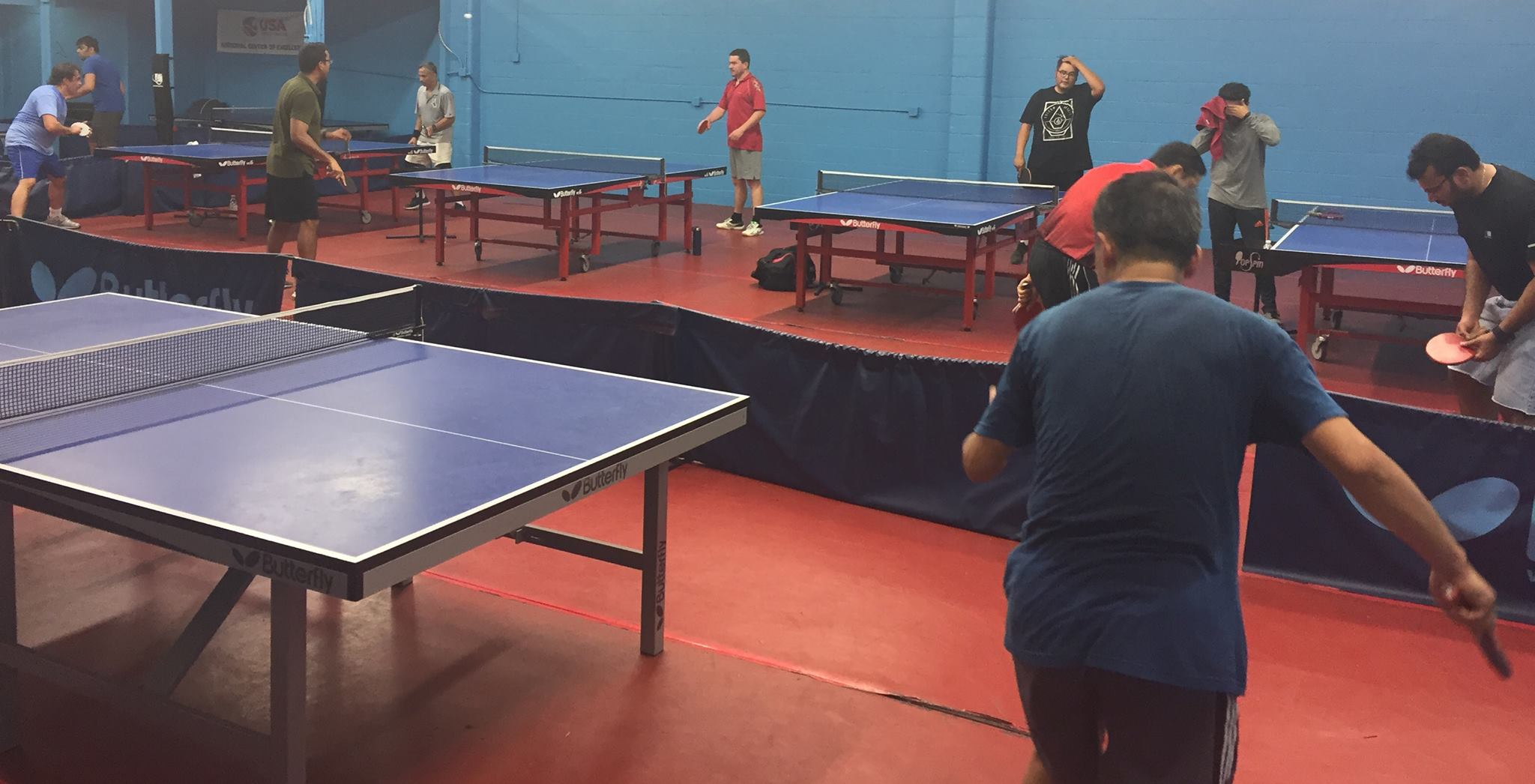 WAB FEATURED CLUB: The Topspin Table Tennis Center