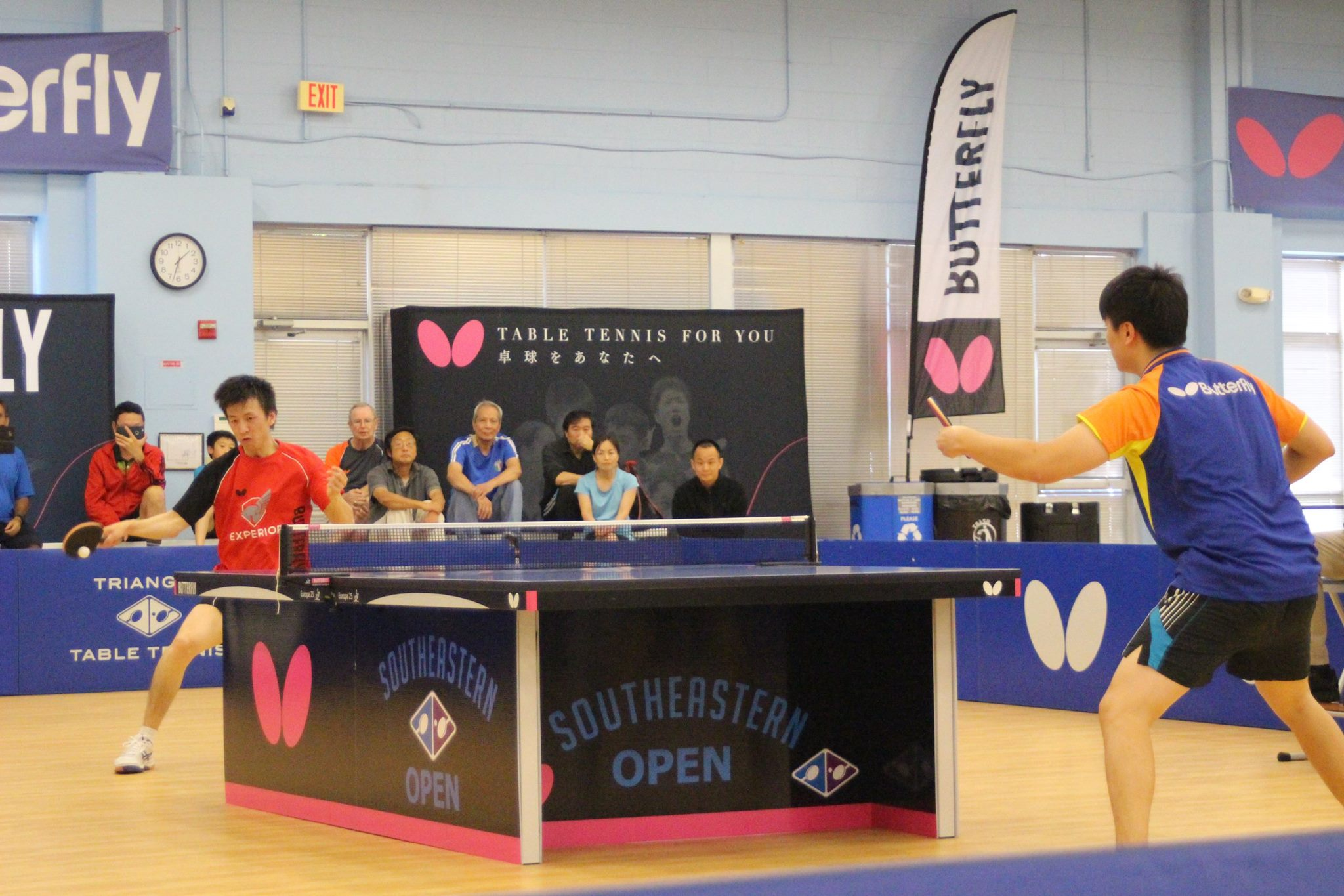 2018 Butterfly Southeastern Open Giant Round Robin