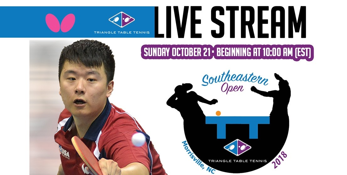 2018 Butterfly Southeastern Open - Live Stream, Photos & Results