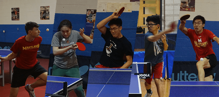 University Table Tennis in America