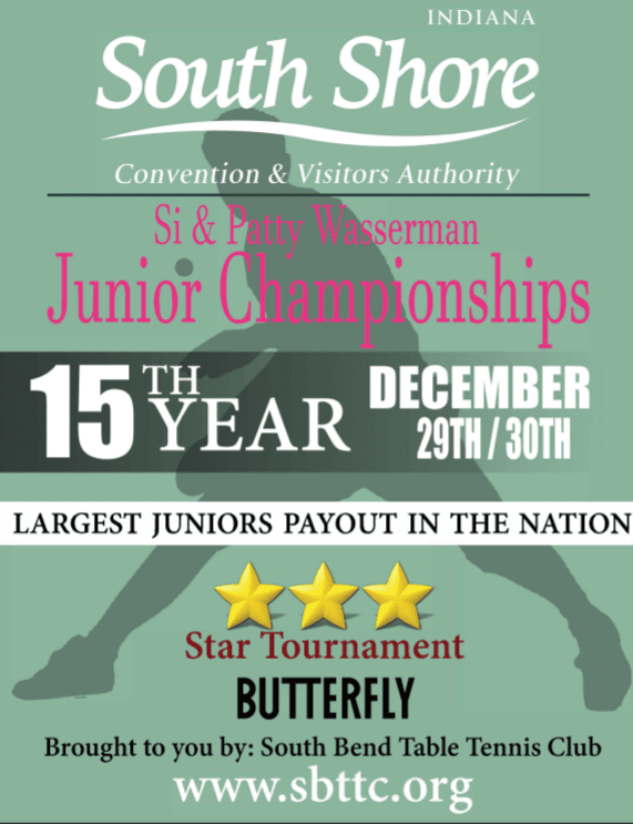 South Shore Sports & Butterfly TT Championships