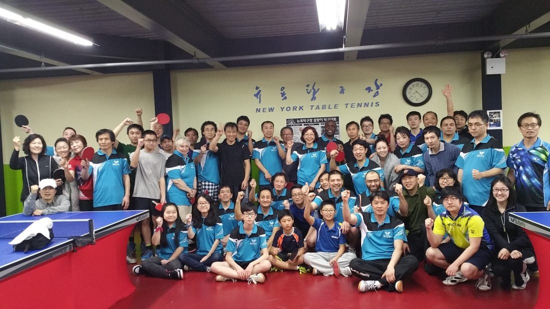 WAB Club Feature: New York Table Tennis Inc.