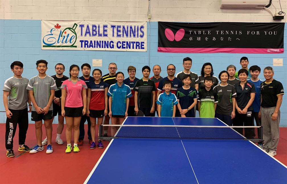 WAB Featured Club: Canadian Elite Table Tennis Training Centre