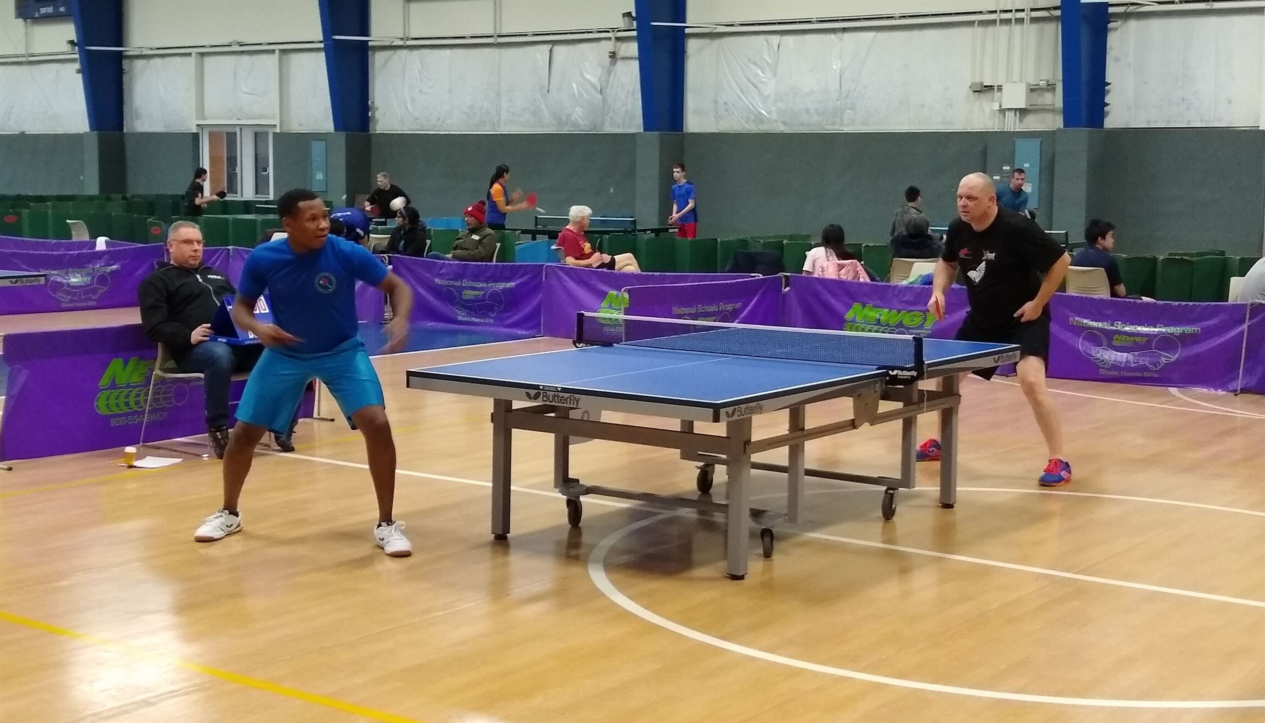 Payne-Miller and Stoner Win at Highland Table Tennis Tournament