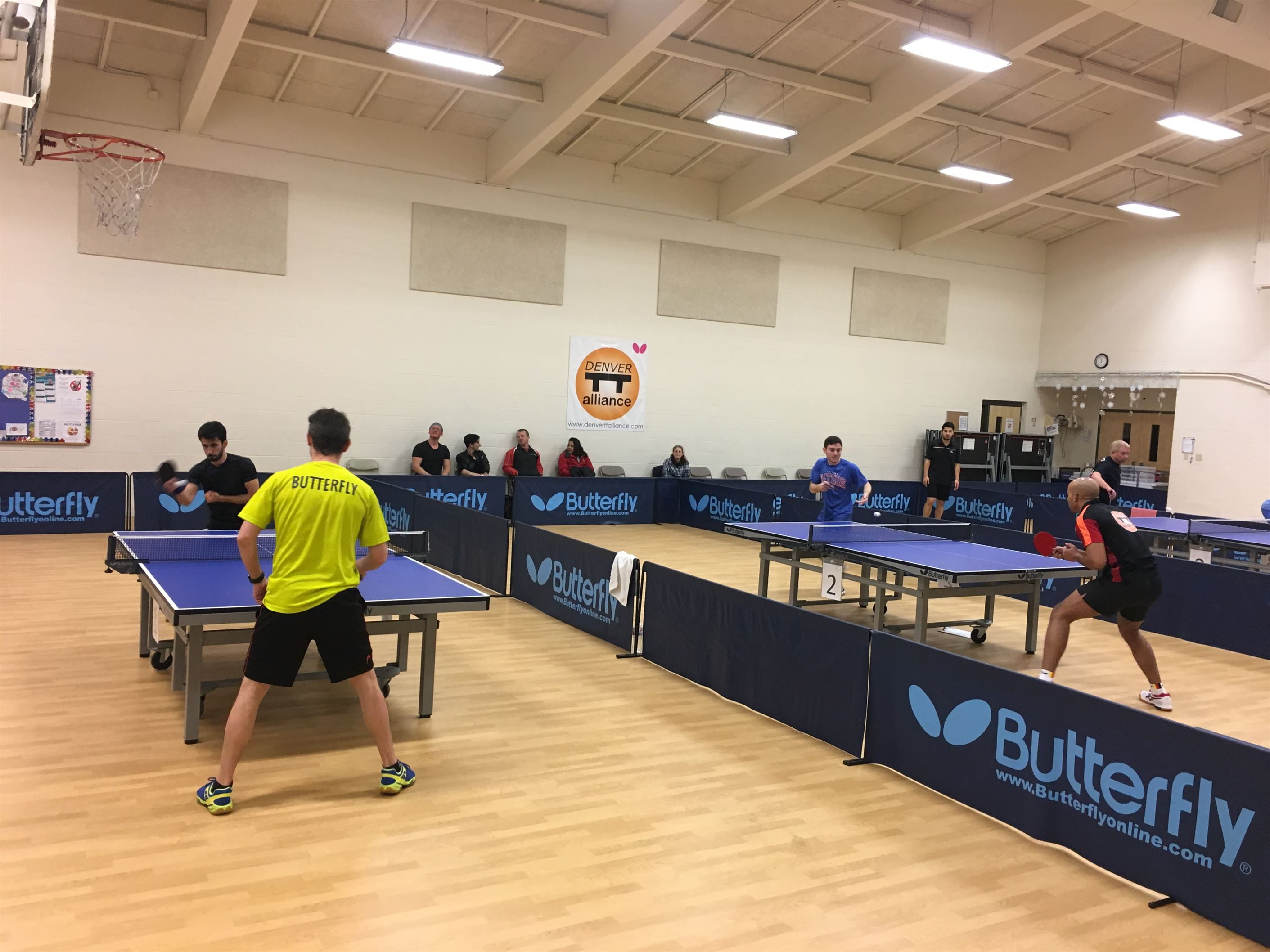 Denver Table Tennis Alliance's 1st MENSUAL Tourney of 2019 was a great success!