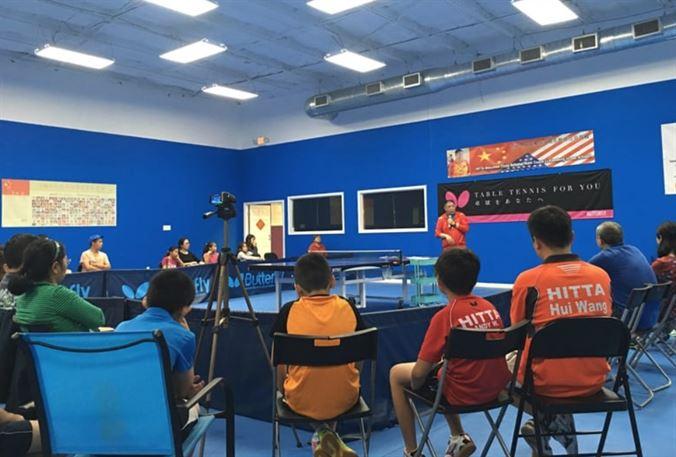 WAB CLUB FEATURE: Houston International Table Tennis Academy