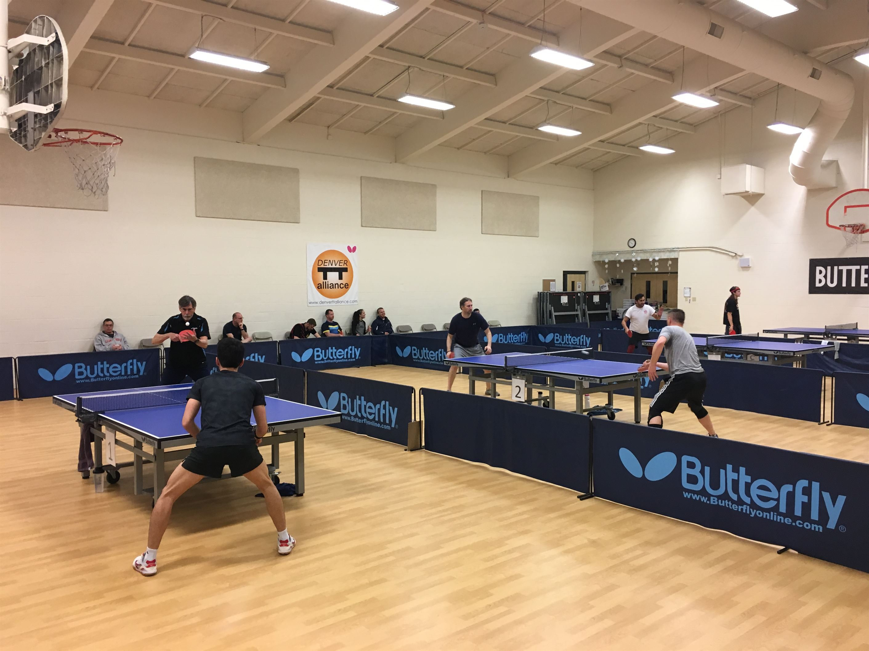 Denver Table Tennis Alliance's 2nd MENSUAL Tourney of 2019... went GREAT!