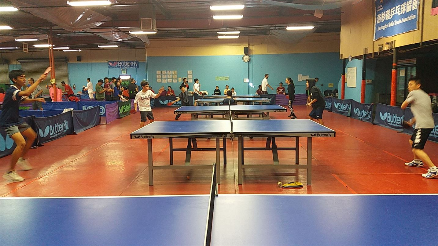 Southern Calif. Schools Table Tennis Tournament