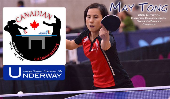 2019 Canadian Championships Underway
