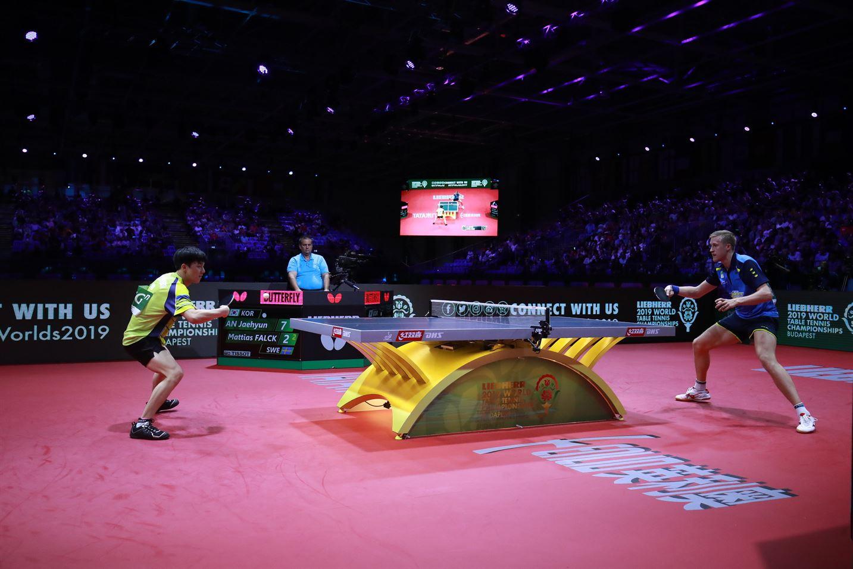 World Championships Day 7: Ma Long and Falck Advance