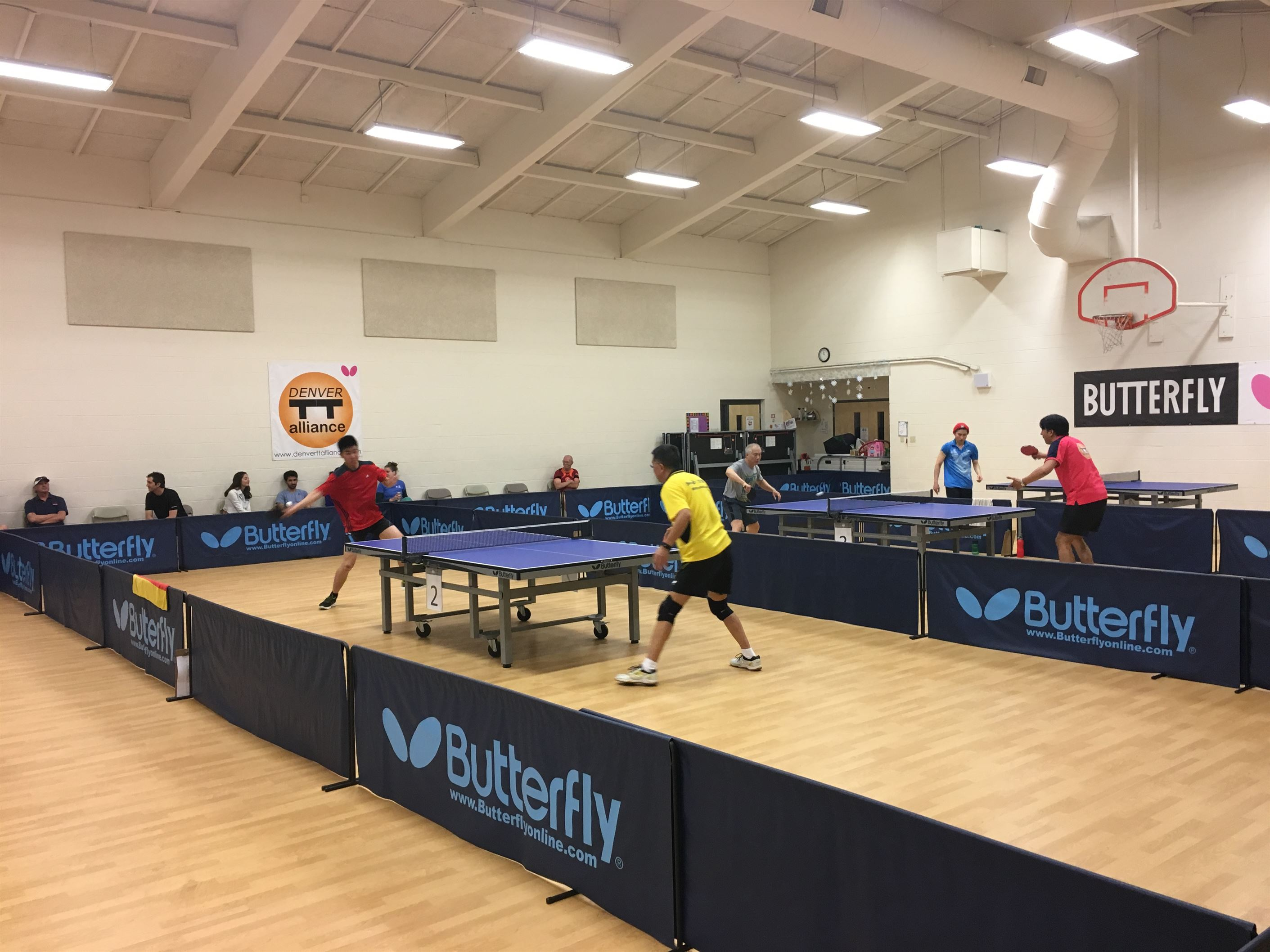 Denver Table Tennis Alliance's 5th MENSUAL Tourney