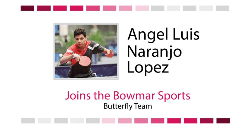 Angel Naranjo Joins Bowmar