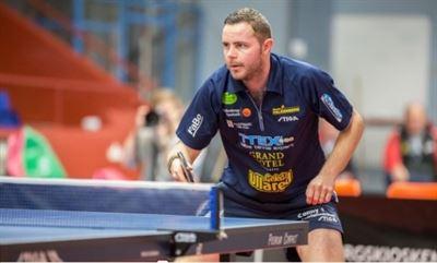 Robert Eriksson Table tennis clinic