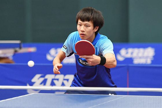 Technique of Lin Gaoyuan, a fast attacking left hander #1