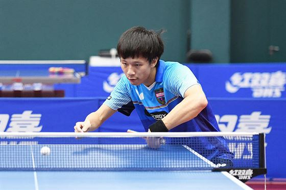 Technique of Lin Gaoyuan, a fast attacking left hander #4
