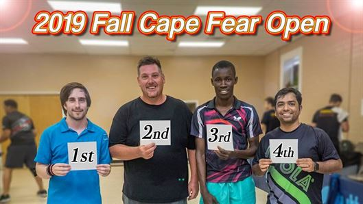2019 Butterfly Fall Cape Fear Open