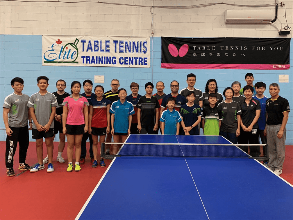 WAB CLUB FEATURE: Canadian Elite Table Tennis Training Centre