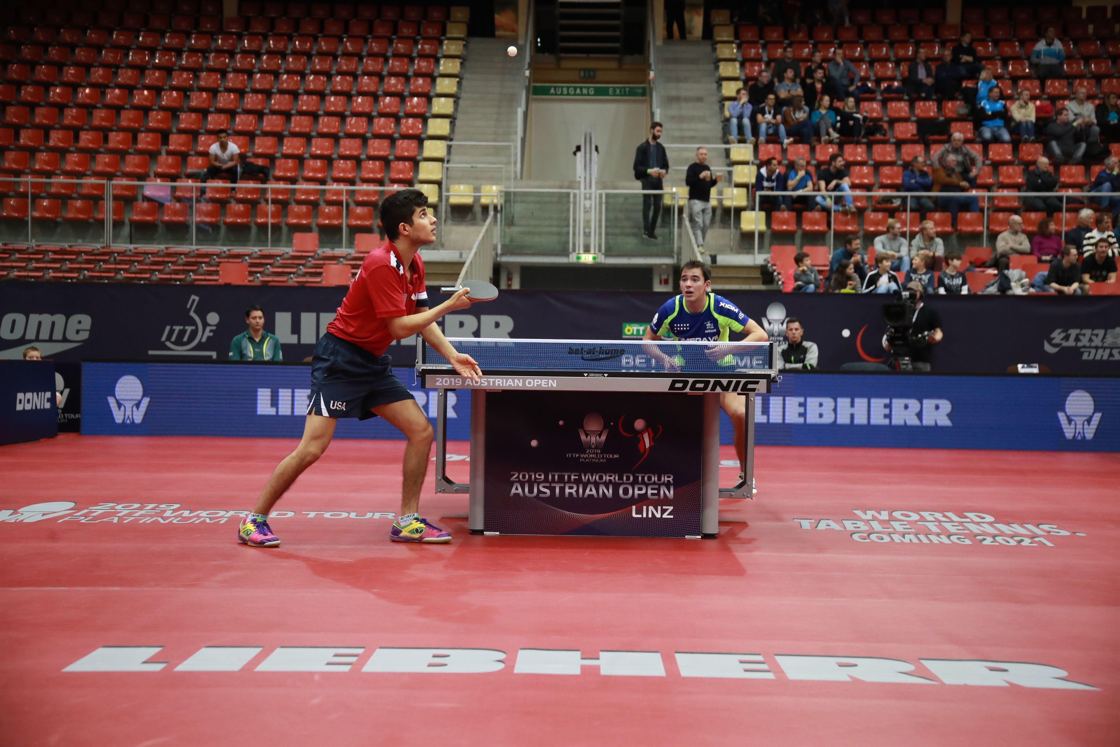 Austrian Open Update: Through to the Quarterfinals in Linz