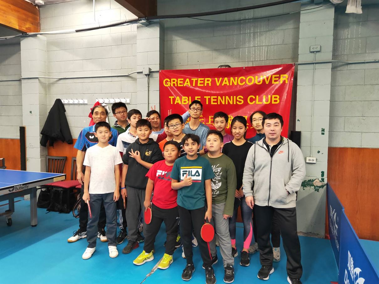 WAB Club Feature: Greater Vancouer Table Tennis Club
