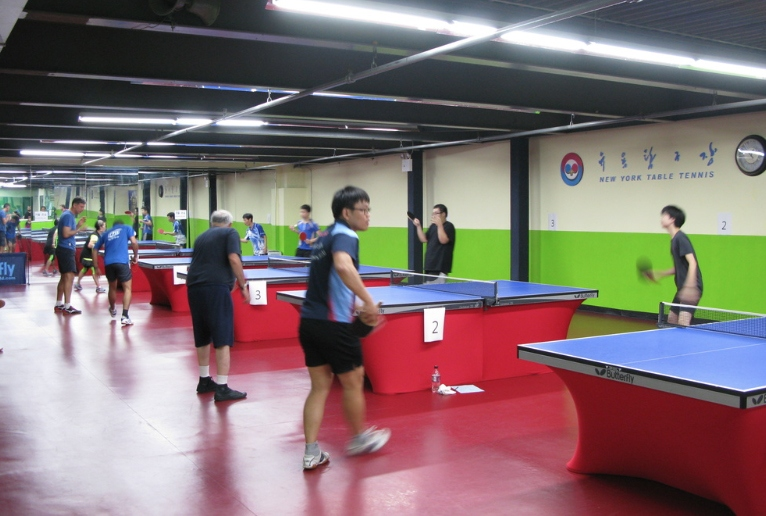 WAB CLUB FEATURE: New York Table Tennis