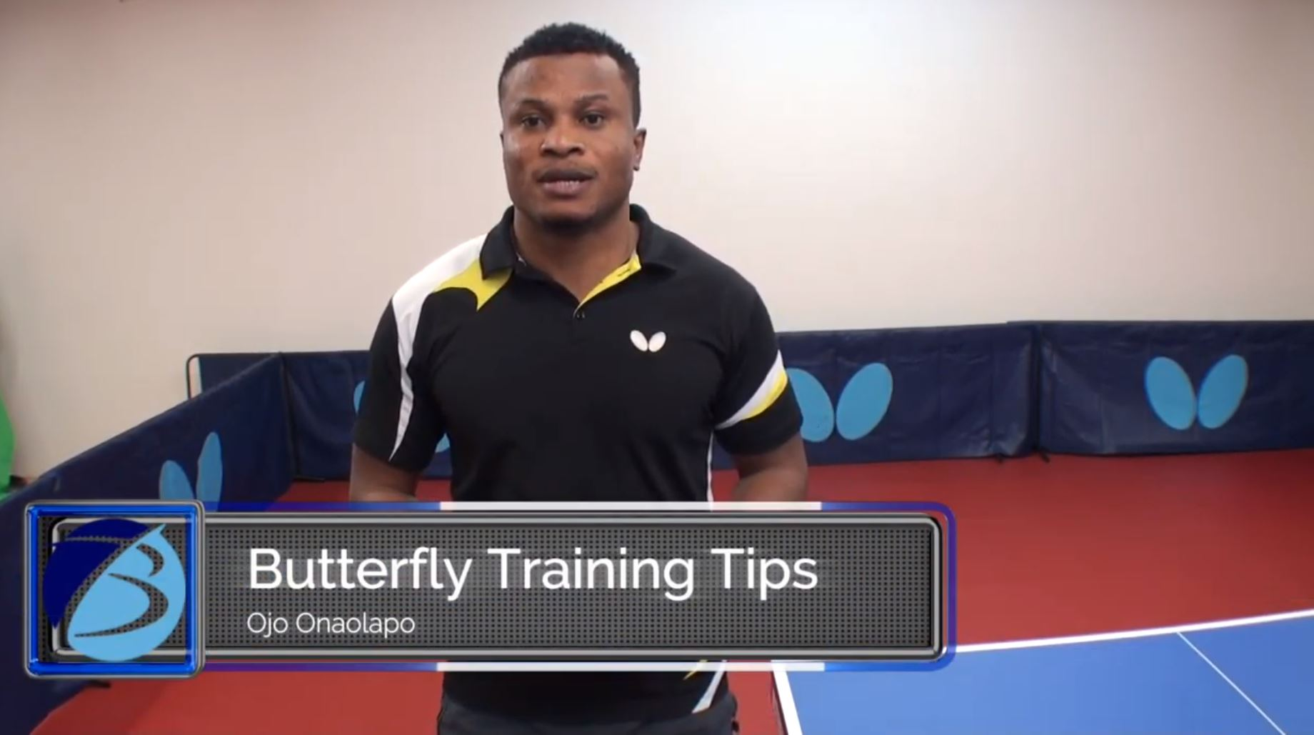 BUTTERFLY TRAINING TIPS – BACKHAND LOOPING WITH COACH OJO (VIDEO)