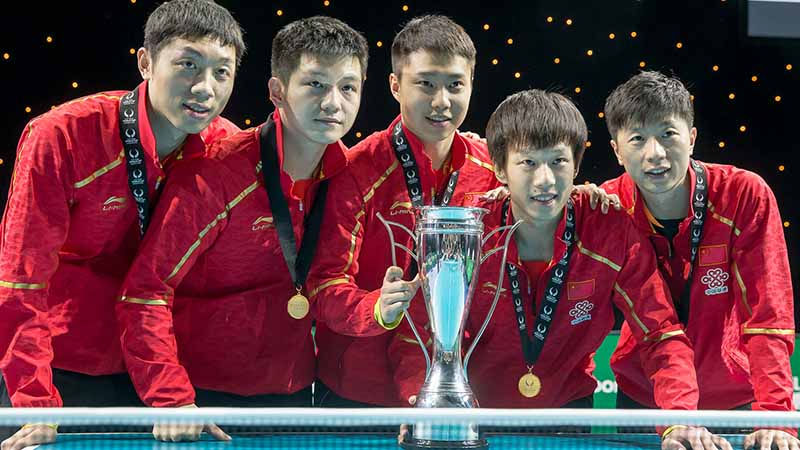 Table Tennis: 2021 Shaping Up (Players from China)
