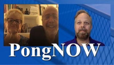 PongNow: Marv and Caron Leff